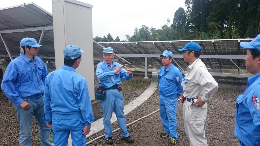 オーナーに選ばれる電気主任技術者チーム「ソーラーSAT」【千葉県】