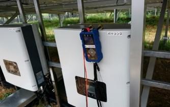 ソラメンテ-Z(SZ-200) ストリングへ故障パネルを探索信号を送信
