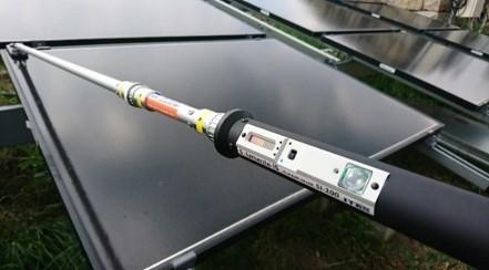 ソラメンテ-CiSアダプターで電流の向きを探索する