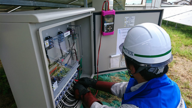 接続箱とSZ-1000